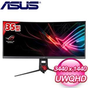 ASUS 華碩 ROG Strix XG35VQ 35型 電競曲面液晶螢幕