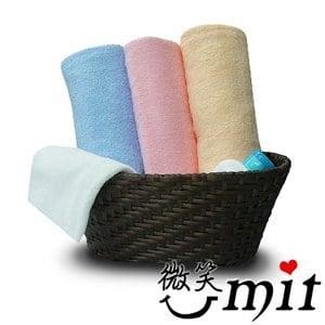 【微笑MIT】舒特 平織素雅浴巾 YPL-320(粉)