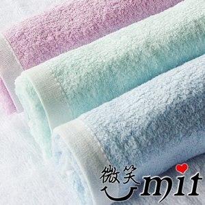【微笑MIT】舒特 紗布前漂童巾 STDY-651(藍/3入)