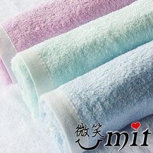 【微笑MIT】舒特 紗布前漂童巾 STDY-651(藍綠/3入)