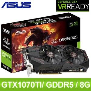 ASUS 華碩 CERBERUS-GTX1070TI-A8G 顯示卡