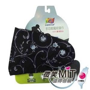 【微笑MIT】KUSOTOP-多功能百變魔術頭巾  HW027(黑)
