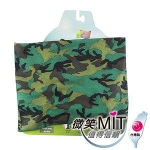 【微笑MIT】KUSOTOP-多功能百變魔術頭巾  HW052(迷彩軍綠)