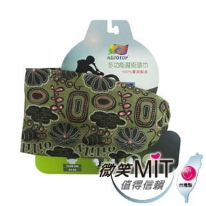 【微笑MIT】KUSOTOP-多功能百變魔術頭巾  HW113(咖)