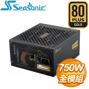 SeaSonic 海韻 PRIME Gold SSR~750GD~V2 750W 金牌 全