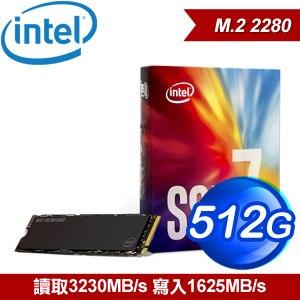 Intel 760p 512G M.2 PCIe SSD固態硬碟(讀:3230M/寫:1625M/TLC)
