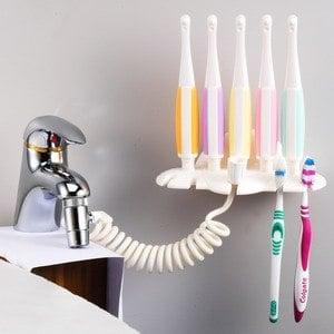 【愛潔樂】免插電二合一美齒SPA沖牙器-家庭組