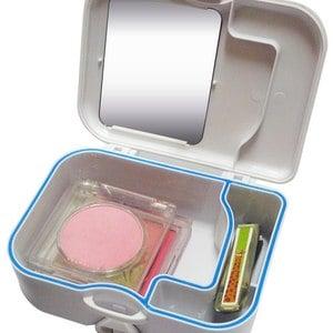攜帶式多功能假牙清潔盒(三入)