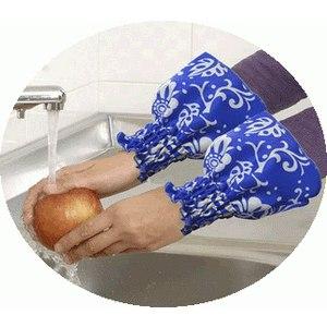 時尚防撥水袖套-炫窩藍(1入)
