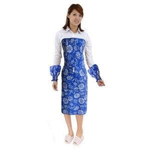 最新創新一秒穿脫 海藍風圍裙(整套+袖套)