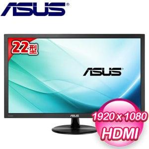 ASUS 華碩 VP228HE 22型 低藍光 不閃屏 液晶螢幕