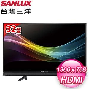 台灣三洋 32型LED液晶顯示器(SMT-32MA3) 含視訊盒