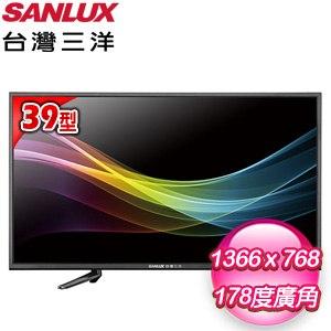 台灣三洋 39型LED液晶顯示器(SMT-39MA3) 含視訊盒