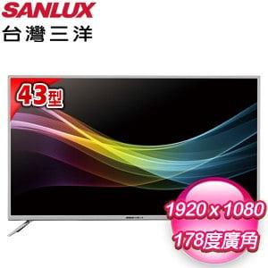 台灣三洋 43型LED液晶顯示器(SMT-K43LE5) 含視訊盒