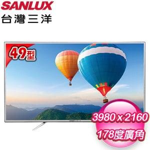 台灣三洋 49型LED液晶顯示器(SMT-K49U) 含視訊盒