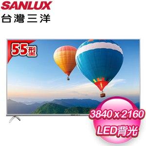 台灣三洋 55型LED液晶顯示器(SMT-55MF1) 含視訊盒