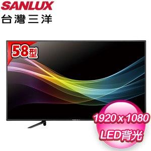 台灣三洋 58型LED液晶顯示器(SMT-58MA3) 含視訊盒