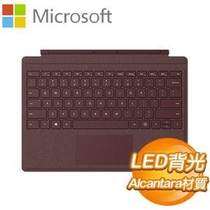 Microsoft 微軟 Surface Pro 鍵盤(FFQ-00058)《酒紅》