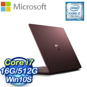 Microsoft 微軟 Surface Laptop筆記型電腦(Core i7/16G/512G/W10S)《酒紅》