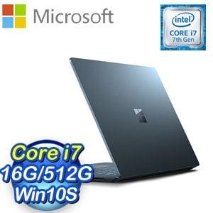 Microsoft 微軟 Surface Laptop筆記型電腦(Core i7/16G/512G/W10S)《鈷藍》