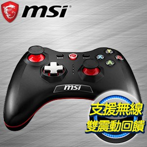 MSI 微星 Force GC30 (PC/PS3/Android三平台) 無線搖捍控制器遊戲手把