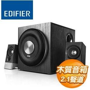 EDIFIER M3600D 2.1聲道 三件式多媒體喇叭《黑》