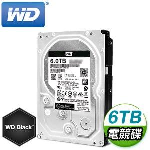 WD 威騰 6TB 3.5吋 7200轉 256MB快取 SATA3黑標電競硬碟(WD6003FZBX)