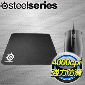 SteelSeries 賽睿 Rival 95 PC Bang 組合包(滑鼠鼠墊組) 一年保固