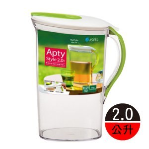 【ASVEL】Apty 大容量冷水壺 2公升 DE8224