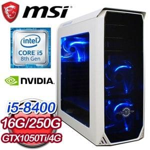 微星 PLAYER【詐欺師】Intel i5-8400六核心 獨顯飆速電競機