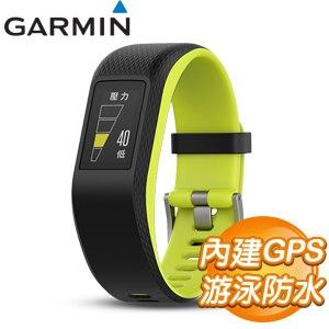 GARMIN vivosport GPS智慧健康心率手環《綠》(大)