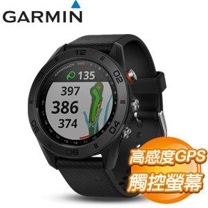 GARMIN Approach S60 高爾夫GPS腕錶《紳士黑》