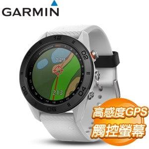 GARMIN Approach S60 高爾夫GPS腕錶《爵士白》