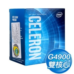 Intel 第八代 Celeron G4900 雙核心處理器《3.1Ghz/LGA1151》(代理商貨)