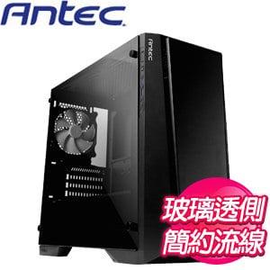 Antec 安鈦克【P6】玻璃透側 M-ATX電腦機殼《黑》