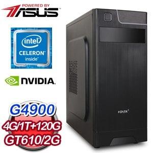 華碩 MANAGER【迅捷斥候】Intel G4900雙核心 獨顯飆速電競機