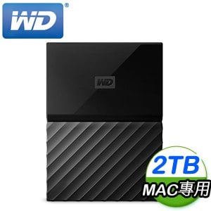WD 威騰 My Passport for Mac 2TB 2.5吋 USB3.0 外接硬碟(WESE)