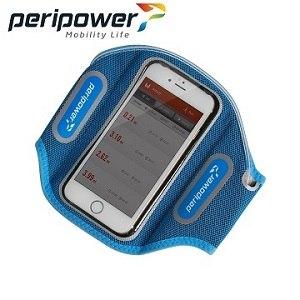 Peripower  LED發光運動臂套(輕盈藍)