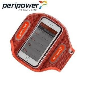 Peripower  LED發光運動臂套(活力紅)