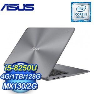 ASUS 華碩 VivoBook X510UF-0073B8250U 15.6吋筆記型電腦(灰/i5-8250U/4G/1TB+128G SSD/MX1302G/WIN10)