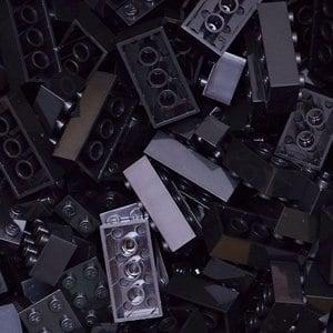 【FY積木大師】300克積木顆粒-黑色
