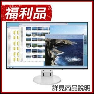 福利品》EIZO 藝卓 FlexScan EV2451 24型IPS薄邊框寬螢幕(白)