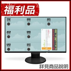 福利品》EIZO 藝卓 FlexScan EV2451 24型IPS薄邊框寬螢幕(黑)-D