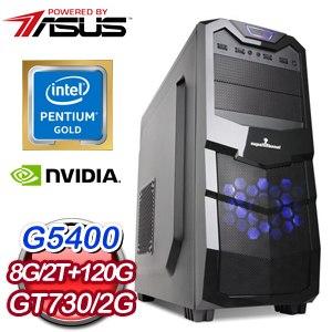華碩 MANAGER【莫使金樽空對月】Intel G5400雙核心 極速文書電腦