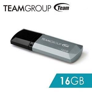 TEAM 十銓科技 C153璀璨星砂碟-科技銀-16GB