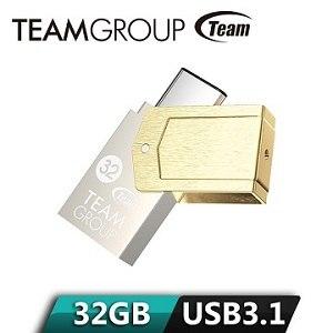 TEAM 十銓 Type C金碟 USB 3.1高速OTG隨身碟 32GB