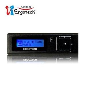 Ergotech人因科技 HiFi高音質音樂播放器-可插卡MP3/錄音筆(8GB)