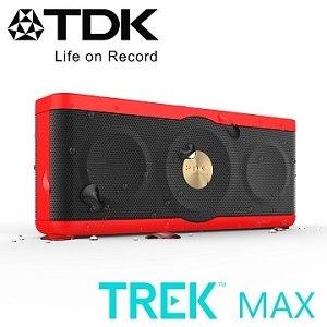 TDK A34 TREK MAX NFC 防水防震Hi-Fi高傳真藍牙音響(紅色)