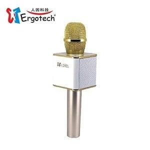 Ergotech人因科技 加強版無線K歌麥克風音響-白