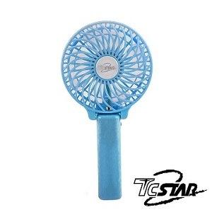 T.C.STAR 颶風MINI隨身風扇(藍)